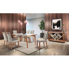 Mesa-de-Jantar-6-Lugares-de-Madeira-Imbuia-com-Tampo-de-Vidro-Branco-180m-Zotz---Ambiente