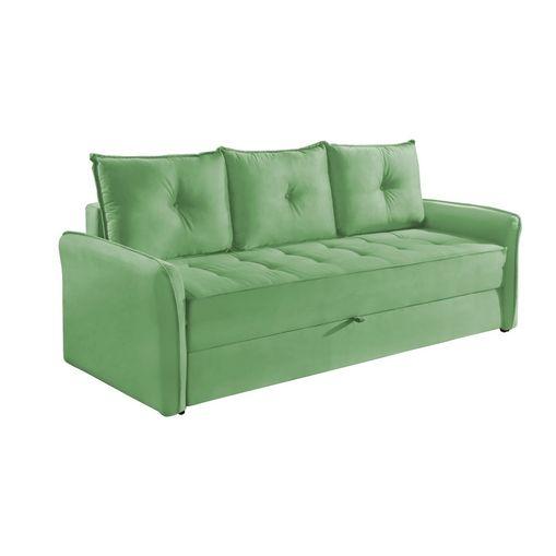 Sofa-Cama-3-Lugares-Verde-em-Veludo-213m-Bled