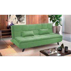 Sofa-Cama-3-Lugares-Verde-em-Veludo-189m-Haas-Ambiente
