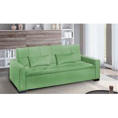 Sofa-Cama-3-Lugares-Verde-em-Veludo-217m-Burano-Ambiente
