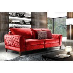 Sofa-3-Lugares-Vermelho-em-Veludo-204m-Apus-Ambiente