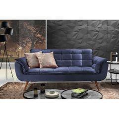 Sofa-2-Lugares-Azul-em-Veludo-176m-Taurus-Ambiente