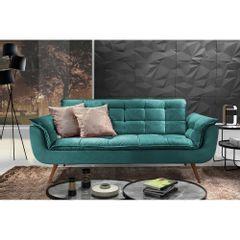 Sofa-2-Lugares-Azul-Esmeralda-em-Veludo-176m-Taurus-Ambiente