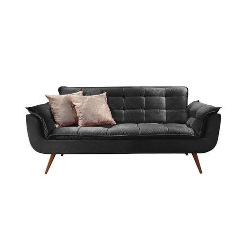 Sofa-2-Lugares-Preto-em-Veludo-176m-Taurus