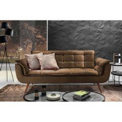 Sofa-2-Lugares-Marrom-em-Veludo-176m-Taurus-Ambiente