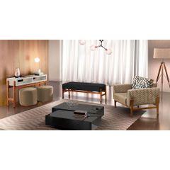 Recamier-Decorativo-Preto-em-Veludo-138m-Unik-Ambiente