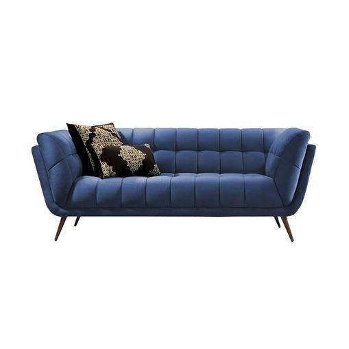 Sofa-2-Lugares-Azul-Cristal-em-Veludo-177m-Hortensia