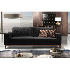 Sofa-2-Lugares-Preto-em-Veludo-164m-Dalia-Ambiente