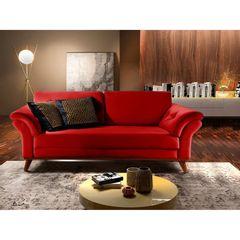 Sofa-2-Lugares-Vermelho-em-Veludo-174m-Lilac-Ambiente