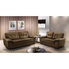 Sofa-2-Lugares-Marrom-em-Korano-162m-Scarpa-Ambiente