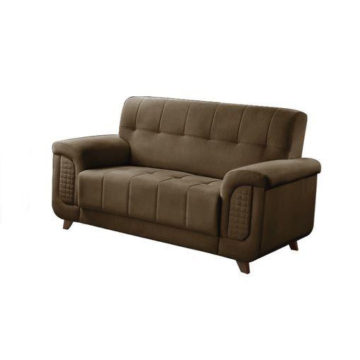 Sofa-2-Lugares-Marrom-em-Veludo-155m-Foster
