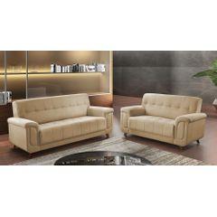 Sofa-2-Lugares-Bege-em-Veludo-155m-Foster-Ambiente