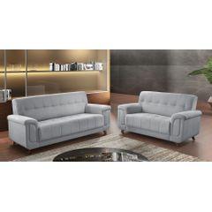 Sofa-2-Lugares-Cinza-em-Veludo-155m-Foster-Ambiente