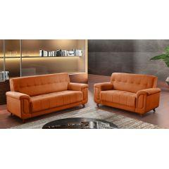 Sofa-2-Lugares-Ocre-em-Veludo-155m-Foster-Ambiente