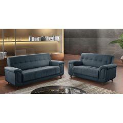 Sofa-3-Lugares-Azul-em-Veludo-205m-Foster-Ambiente