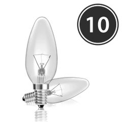 Kit-10-Lampadas-Incandescentes-Vela-Lisa-Clara-VL-37-E-14-25W-127V-Toplux