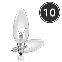 Kit-10-Lampadas-Incandescentes-Vela-Lisa-Clara-VL-35-E-12-25W-220V-Toplux