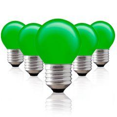 Kit-5-Lampadas-Decorativas-Bolinha-BG-45-Verde-E-27-40W-127V-Toplux