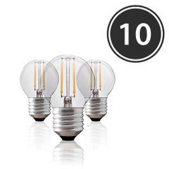 Kit-10-Lampadas-Bolinha-Filamento-LED-Clara-BG-45-E-27-4W-Branca-Quente-220V-Toplux