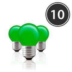 Kit-10-Lampadas-Decorativas-Bolinha-BG-45-Verde-E-27-15W-220V-Toplux