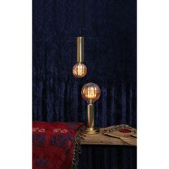 Kit-5-Lampadas-Decorativas-Filamento-LED-Moranga-Ambar-G100-Toplux-Ambiente