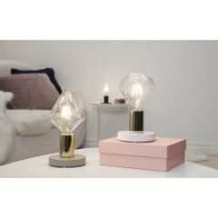Kit-5-Lampadas-Decorativas-Filamento-LED-Diamante-G95-Toplux-Ambiente