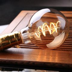 Kit-5-Lampadas-Retro-Filamento-LED-G95-Toplux-Ambiente