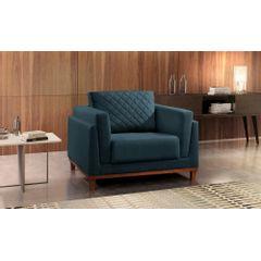 Poltrona-Decorativa-Azul-em-Veludo-Sintra---Ambientada