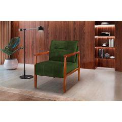 Poltrona-Decorativa-Verde-Escuro-em-Veludo-Riga---Ambientada