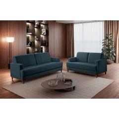 Sofa-3-Lugares-Azul-em-Veludo-188m-Helbeste---Ambientada