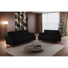 Sofa-3-Lugares-Preto-em-Veludo-188m-Helbeste---Ambientada
