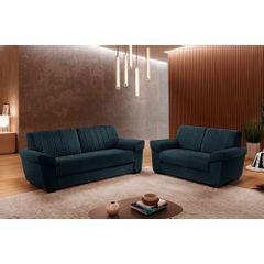 Sofa-3-Lugares-Azul-em-Veludo-205m-Nauru---Ambientada