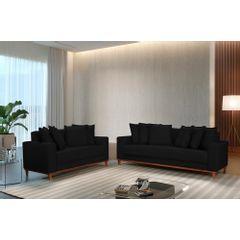 Sofa-3-Lugares-Preto-em-Veludo-217m-Nefel---Ambientada