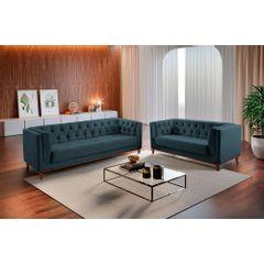 Sofa-3-Lugares-Azul-em-Veludo-220m-Renungan---Ambientada