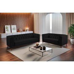 Sofa-3-Lugares-Preto-em-Veludo-220m-Renungan---Ambientada