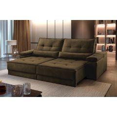 Sofa-Retratil-e-Reclinavel-3-Lugares-Marrom-210m-Kissen---Ambientada