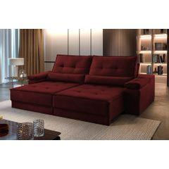 Sofa-Retratil-e-Reclinavel-4-Lugares-Bordo-290m-Kissen---Ambientada
