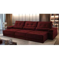 Sofa-Retratil-e-Reclinavel-5-Lugares-Bordo-320m-Kissen---Ambientada