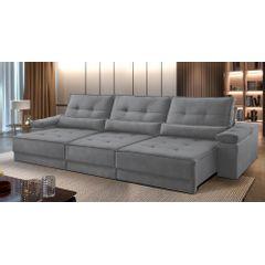 Sofa-Retratil-e-Reclinavel-5-Lugares-Cinza-350m-Kissen---Ambientada