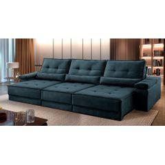 Sofa-Retratil-e-Reclinavel-6-Lugares-Azul-380m-Kissen---Ambientada