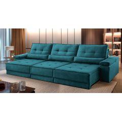 Sofa-Retratil-e-Reclinavel-6-Lugares-Esmeralda-380m-Kissen---Ambientada