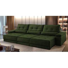 Sofa-Retratil-e-Reclinavel-6-Lugares-Verde-Escuro-380m-Kissen---Ambientada