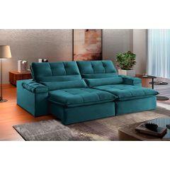 Sofa-Retratil-e-Reclinavel-3-Lugares-Esmeralda-230m-Atlantique---Ambientada