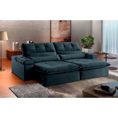 Sofa-Retratil-e-Reclinavel-4-Lugares-Azul-270m-Atlantique---Ambientada