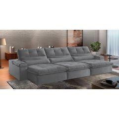 Sofa-Retratil-e-Reclinavel-5-Lugares-Cinza-320m-Atlantique---Ambientada
