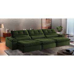 Sofa-Retratil-e-Reclinavel-5-Lugares-Verde-Escuro-320m-Atlantique---Ambientada