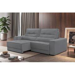 Sofa-Retratil-e-Reclinavel-3-Lugares-Cinza-230m-Jacarta---Ambientada
