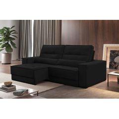 Sofa-Retratil-e-Reclinavel-3-Lugares-Preto-230m-Jacarta---Ambientada