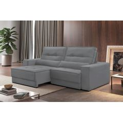 Sofa-Retratil-e-Reclinavel-4-Lugares-Cinza-250m-Jacarta---Ambientada