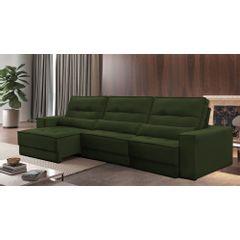 Sofa-Retratil-e-Reclinavel-5-Lugares-Verde-Escuro-350m-Jacarta---Ambientada